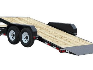 7x20 tilt equipment trailer for rent