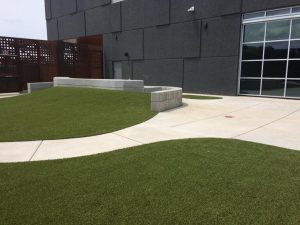 Advanced Learning Library Children's Pavilion Outdoor Courtyard