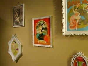 Installation view of Kelly Brownlee's work