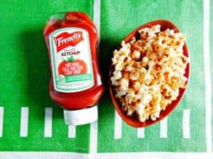 popcorn made with ketchup