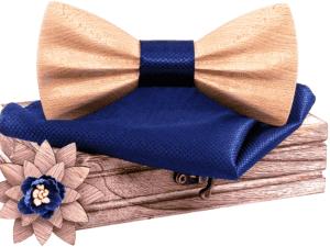 Coffret noeud papillon en bois excentrique – Python