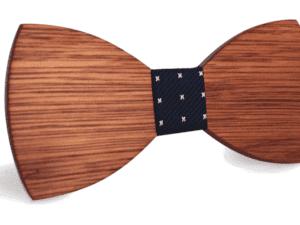 Noeud papillon en bois classique – Renne