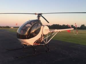 N725A Schweizer 300CB or 269C-1 helicopter used for flight training with ETL Aviation