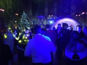 Savills Christmas Party at Girton College