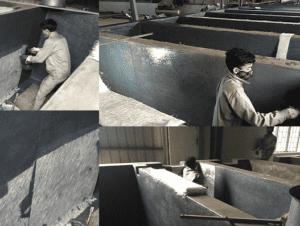 Bọc phủ chống ăn mòn bồn kim loại