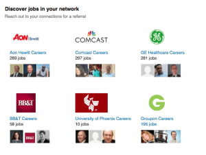 jobs in your network