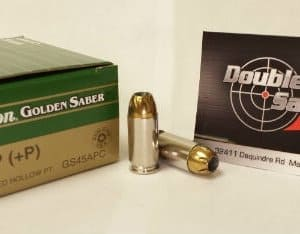 Remington 45 ACP +P 185gr JHP Golden Saber (GS45APC)