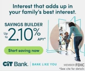 Save money with CIT Bank and earn interest on your money