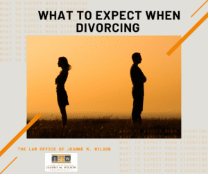 What to Expect When Divorcing