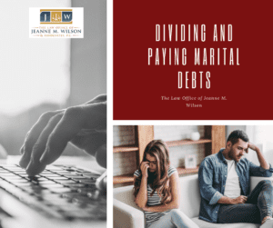 More About Dividing and Paying Marital Debts