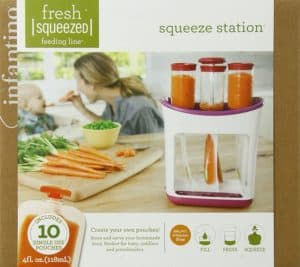 Infantino Baby Food Maker Squeeze Station