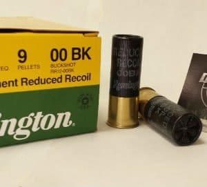 Remington 12 GA 2 3/4in 00 BUCK Law Enforcement Reduced Recoil (RR12-00BK)