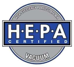 hepa certified vacuum