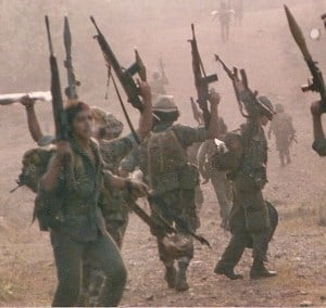 Photo of Nicaraguan Contra fighters