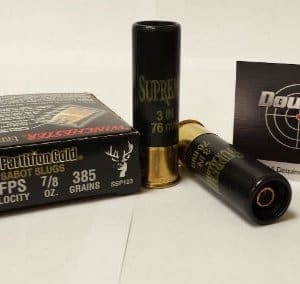 "Winchester 12 GA 3"" 385gr Slug Partition Gold (SSP123)"