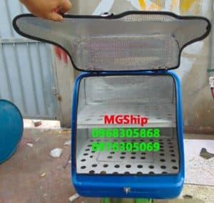 Thùng ship hàng MGShip (trà sữa, chia ngăn)