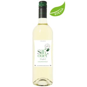 Silhouet Light Blanc белое безалкогольное вино со стевией