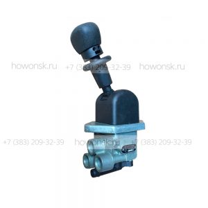 Кран ручного тормоза F2000 арт. 81.52315.6156 для ремонта китайских грузовиков SHACMAN.
