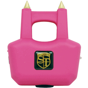 Pink Spike Stun Gun from view