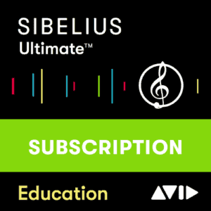AVID Sibelius Ultimate 1-Year Subscription