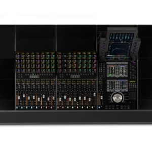 AVID S4 16-fader with a 4-foot base system