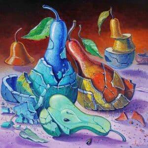 surrealism painting alex levin
