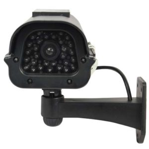 solar dummy camera mounted view of lens