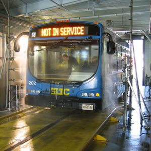 bus wash bays cleaning equipment