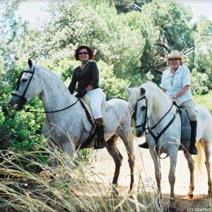 Excursión a caballo en parajes protegidos