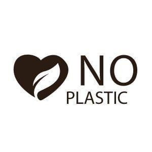 NO PLASTIC = Real Plastic Free