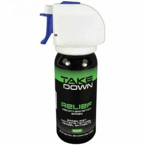Take Down OC Relief Decontamination Spray Side