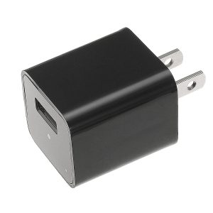 USB Charger With Hidden Camera And DVR Left Side