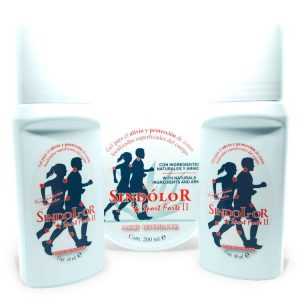 Pack 2 sindolor gel roll on sport forte 60ml + gel sindolor sport forte II tarrina 200ml