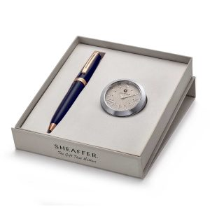Sheaffer 9143 Ballpoint Pen With Chrome Table Clock Rs. 5775