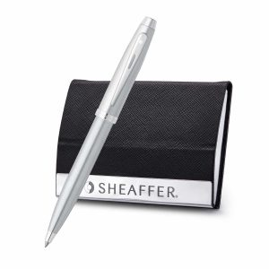Sheaffer 9306 Ballpoint Pen With Business Card Holder Rs. 1500
