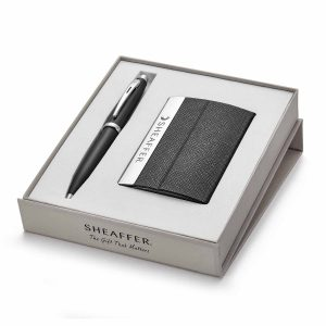 Sheaffer 9317 Ballpoint Pen With Business Card Holder Rs. 1500
