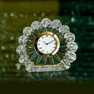 Glass Desk Clock B