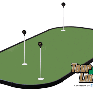 tour links birdie maker indoor putting green with logo