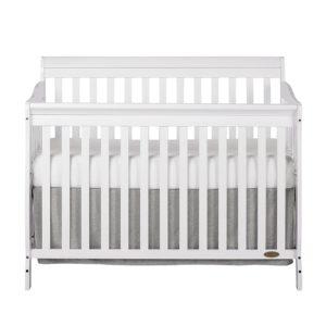 Dream On Me Ashton White Convertible Crib
