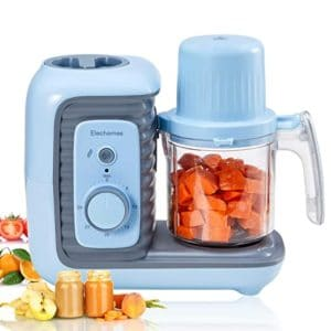 Elechomes 8-in-1 Baby Food Processor Blender Grinder Steamer