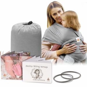 Lazy Monk Baby Wrap Carrier