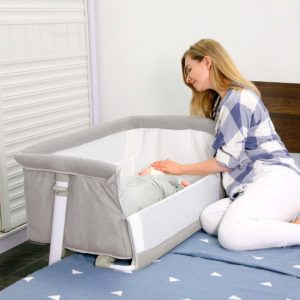 Ronbei Baby Bassinet And Bedside Sleeper