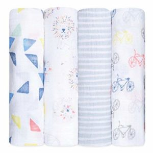 Aden + Anais Swaddle Blanket Best Baby Blankets