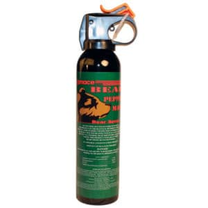 Mace Bear Spray 260 Grams Left Side View