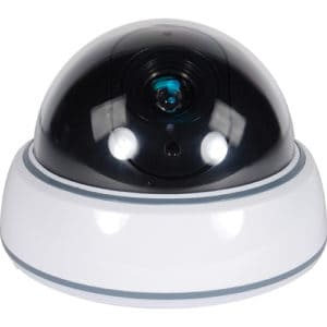 Dummy Dome Camera With LED White