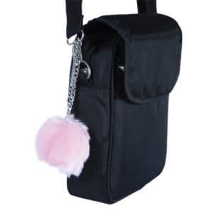 Fur Ball Buzzer Personal Alarm Pink