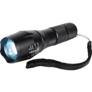 High Intensity Zoomable Flashlight