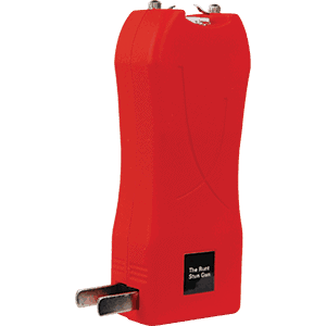 Runt Stun Gun Red With Plug Out