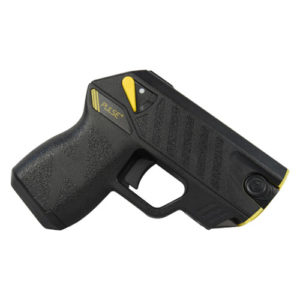 right side view of taser pulse plus black