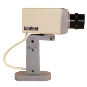 dummy cam for indoors with motion detection side view